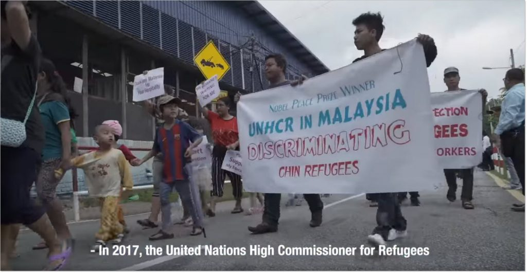 Chin refugees cessation responses documentary by R.AGE